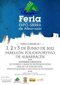 cartel feria albarracin